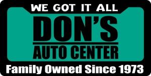 Dons Logo Family Owned